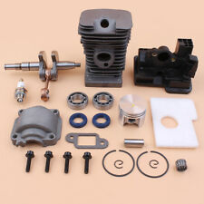 38mm Cylinder Piston Crankshaft Engine Pan Kit For Stihl 018 MS 180 Chainsaw NEW