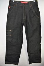 Guess Workwear Straight Fit Men's Carpenter Size 30 Jeans Meas. 30x31 Dark Wash