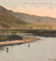 Postcard, Thompson River Kamloops B.C. Canada Vintage P15