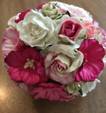 Wedding Bouquets Bouquet Bridal Flowers Paper Roses-handmade