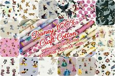 Disney 100% Craft Cotton Fabric 140cm Wide - Licensed Characters 15 Design Print