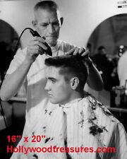 "Elvis Presley~Hair Salon~#6~Barber~Photo~Rockabilly~Stylist~16"" x 20"""