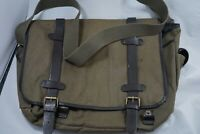 Vintage Style Gap Brand Leather and Canvas Messenger Bag - Very Comfortable