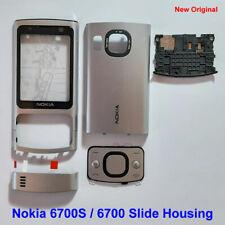 100% Genuine New Original Nokia 6700S, 6700 Slide Full Set Fascia Housing Silver