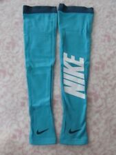 Nike Pro Hyperwarm Graphic Arm Sleeves Dusty Cactus/Blue Xs/S Men's Women's