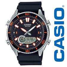 Casio AMW720-1AV Para Hombre Marine Gear Analógico Digital Reloj Gráfico Marea Fase Lunar