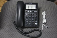 "Used At&T 983 2-Line Corded Telephone Speakerphone Grade ""B"" no Ac power needed!"