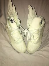 Adidas JS WINGS GID 1.0 Jeremy Scott Glow White Green Rare  G43736 Size 11.5