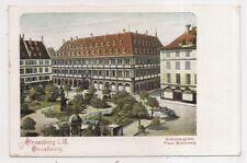 strasbourg , place gutemberg -