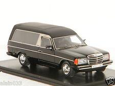 MERCEDES BENZ W123 CORBILLARD NOIR 1978 NEO 1/43 Ref 45280