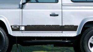 LAND ROVER DEFENDER 90 Aftermarket Door Stripes Decal Sticker Set Kit Wing Door