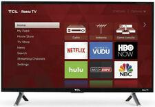 "TCL 65S405 65"" 4K HDR Roku Smart TV - Black"