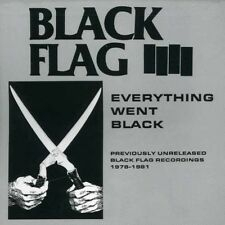 Black Flag - Everything Went Black [New CD]