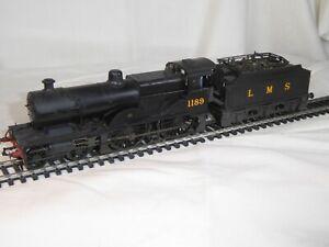 Bachmann 00 Gauge LMS Class 1000 - 4-4-0 Midland Compound - No 1189 in LMS Black