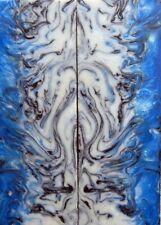 """Frost Bite Acrylester #104 (2 pc) Razor Knife Scales 3/16"""" x 2"""" x 6"""" - (3)"""