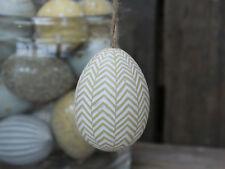 Oster Ei zum befüllen Keramik Ostern Biene gelb Neu