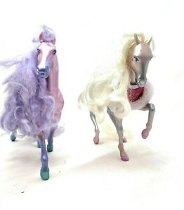 vintage kenner 1987 fashion star fillies horse - joelle and chloe 2 Horses