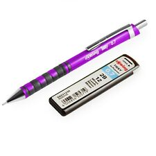 Rotring Tikky Mechanical Pencil - 0.7mm 2B - Purple Barrel + 12 Leads