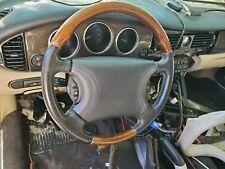 1998 1999 00 01 02 2003 Jaguar Xj8 XJR XK8 Vanden Plas Lenkrad Schwarz Bein