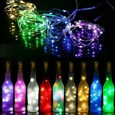 2 Meter Bottle Fairy String LED Lights Strip Battery Christmas Wedding Party