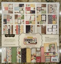 Simple Stories Summer Fresh 12X12 Colletion Kit & Basic Kit New FREE SHIPPING