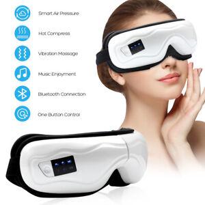 Bluetooth Electric Eye Massager Air Pressure Hot Compress Vibration Massage Tool