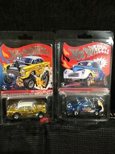 HOT WHEELS RLC EXCLUSIVE 2019 / 2020 SELECTIONS '55 CHEVY  BEL AIR & -41 WILLYS