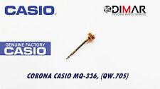 CASIO CORONA/ WATCH CROWN, PARA MODELOS. MQ-336, (QW.705) -GOLD TONE-