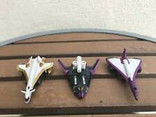 Transformers Armada Air Assault Minicon Team (Dark Saber) Lot of 3 Planes