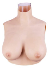 Minaky Silicone Breast Plate Fake Boobs Mastectomy Prosthesis for Crossdresser