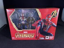NEW Bandai S.H.Figuarts Marvel Avengers Infinity War Iron Spider Spiderman