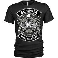 Badminton T-Shirt World Tournament Unisex Mens