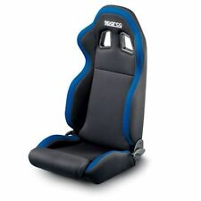 Sparco 00961NRAZ R100 Steet Seat Black/Blue Highback Bucket Steel Frame