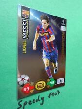 Champions League 09 2010 Super Strikes Messi Barcelona Champion Panini Adrenalyn
