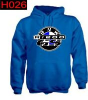 Felpa cappuccio moto personalizzata Bmw R1200 GS hoodie sweatshirt H026