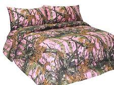 Bedding Premium Microfiber Sheet Set Woods 4 Piece Home Camo Bed Set All Colors