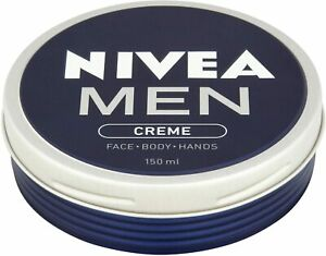 Nivea Men Creme Face - Body - Hands Tin 150ml - 1 to 3 Packs Available