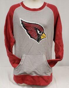 Brand New Majestic women's NFL Arizona Cardinals Long Sleeve Sweatshirt