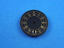 Unbranded Black Watch Dial Part -Latin Numbers- 27.5mm -Swiss Made-  #331