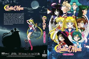 Sailor Moon (Season 1:VOL.1 - 46 End) ~ All Region ~ Brand New ~ English Version