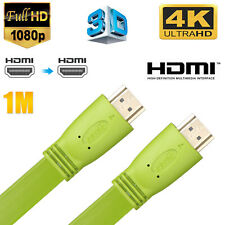 HDMI Male to Male 1080P 3D 4K x2K HDTV TV Ethernet Audio Video Converter Cable
