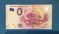 0 Euro Schein - DDR-Museum 200 Jahre Karl Marx - 2018 - 5 - druckfrisch