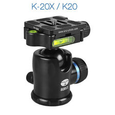 Sirui K-20X K20X 38mm Ballhead with Quick Release, 55.1 lbs Load Capacity