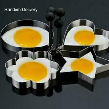 Stainless Pancake Ring Mould Cooking Fried Egg Shaper Kitchen Tool YZ