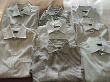 8 cotton shirts: 7 CORNELIANI ( 4 v.g. cond./ 3 normal ) + 1 CANALI vg 42 read..