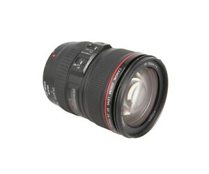 Canon 24-105mm f/4 L IS USM Macro EF-Mount Wide Angle / Standard Lens {77} - UG