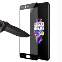 9H Hardness Premium Full Cover Tempered Glass Film Screen Protector For ONEPLUS5