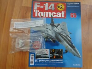 1/32 HACHETTE BUILD THE F-14 TOMCAT MODEL PLANE ISSUE 65 INC PART PICTURED