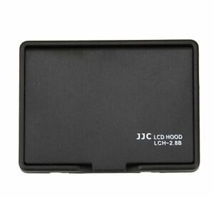 JJC BLK. LCH-2.8B Universal LCD Hood for 2.7/2.8 inch LCD Screen Display Camera