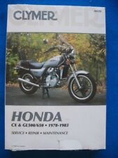 1978-1983 CX500 GL500 CX650 GL650 BRAND NEW Clymer Service Repair Manual Honda